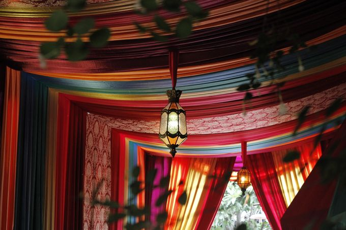 Colorful Tent by Charissa Event & Wedding Decoration - 002