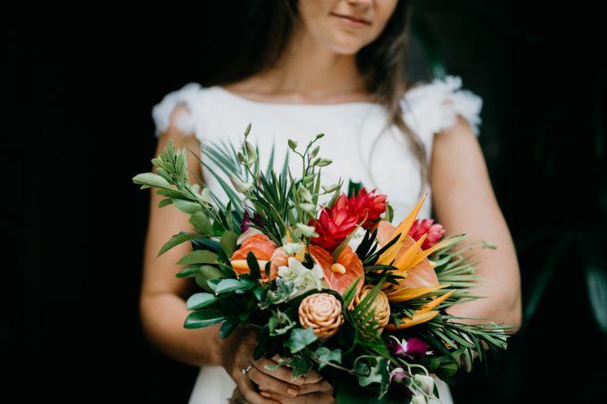 Bali Wedding of Pieter & Lieselotte by Bali Wedding Services - 001