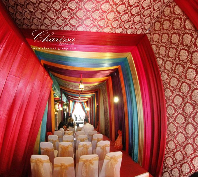 Colorful Tent by Charissa Event & Wedding Decoration - 001