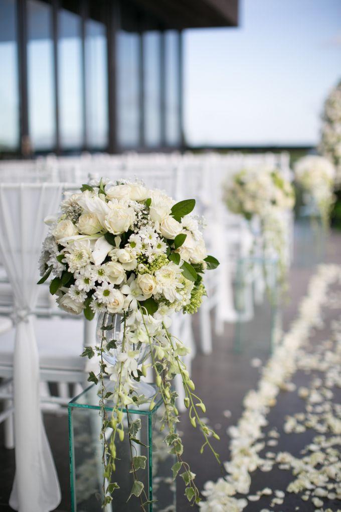 Wedding Emma & Matt  4 April 2018 by Anantara Seminyak Bali Resort - 016