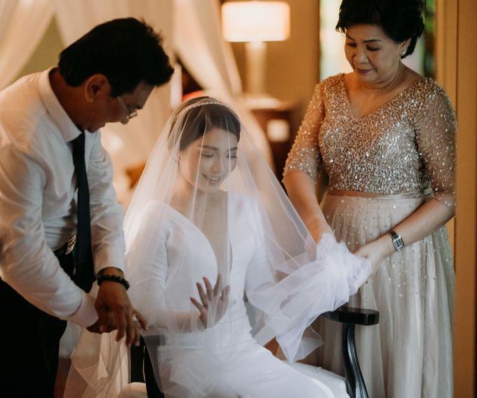 Intimate Bali Wedding of Willy & Dewi by Lentera Wedding - 011