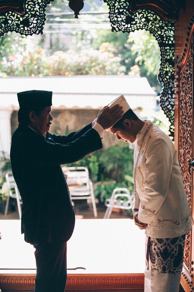 The Wedding of Nesha & Dito by Ahava by Bona Soetirto - 006