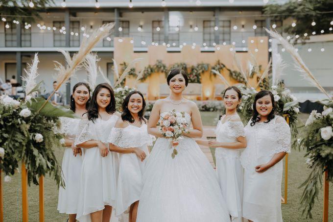 Wedding of Andre & Bella by Elina Wang Bridal - 003
