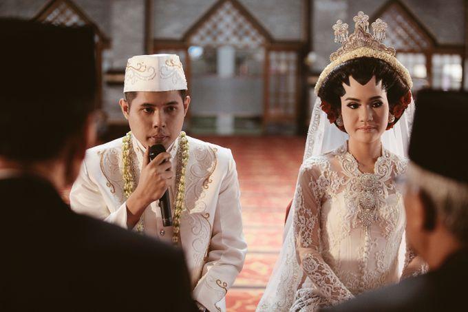 The Wedding of Nesha & Dito by Ahava by Bona Soetirto - 012