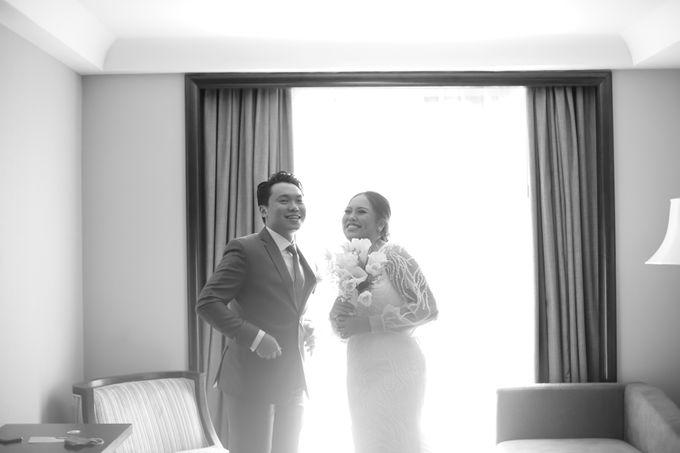 Genoveva & Jeremiah Wedding at The Avani BSD by Mirza Photography - 041