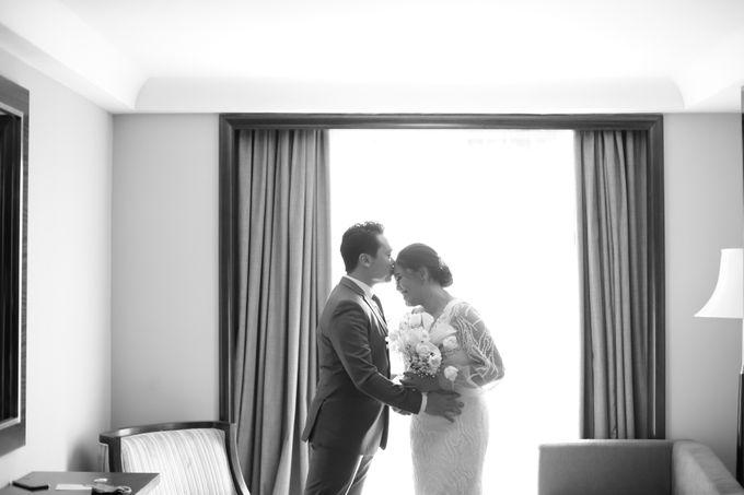 Genoveva & Jeremiah Wedding at The Avani BSD by Mirza Photography - 042