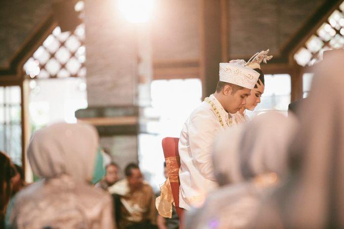 The Wedding of Nesha & Dito by Ahava by Bona Soetirto - 013