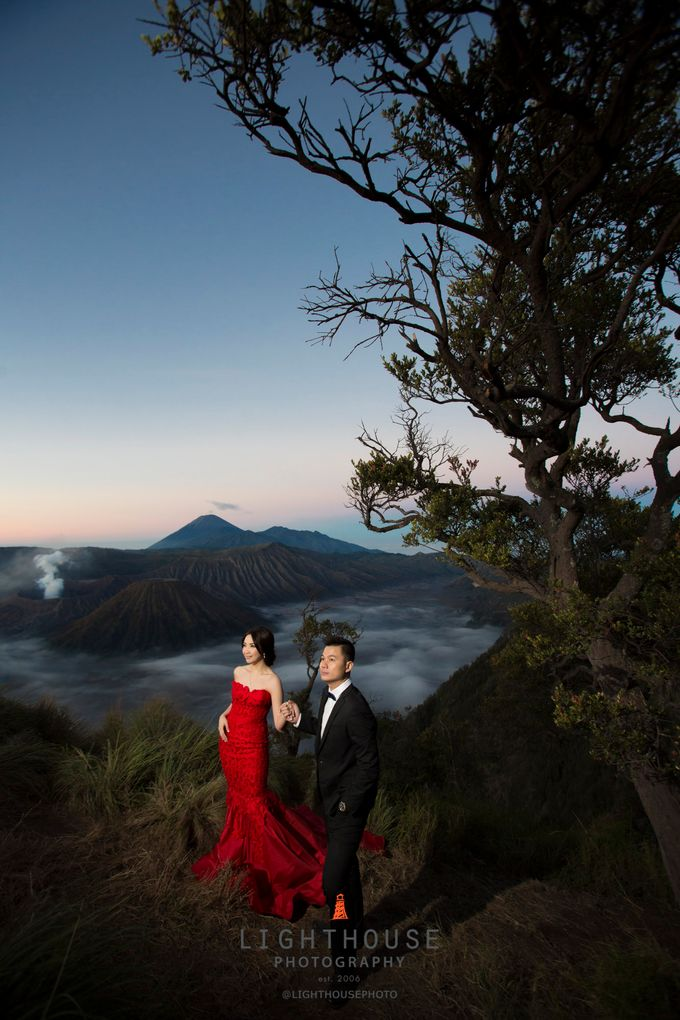 The Prewedding of Harry and Kathy by Lighthouse Photography - 001