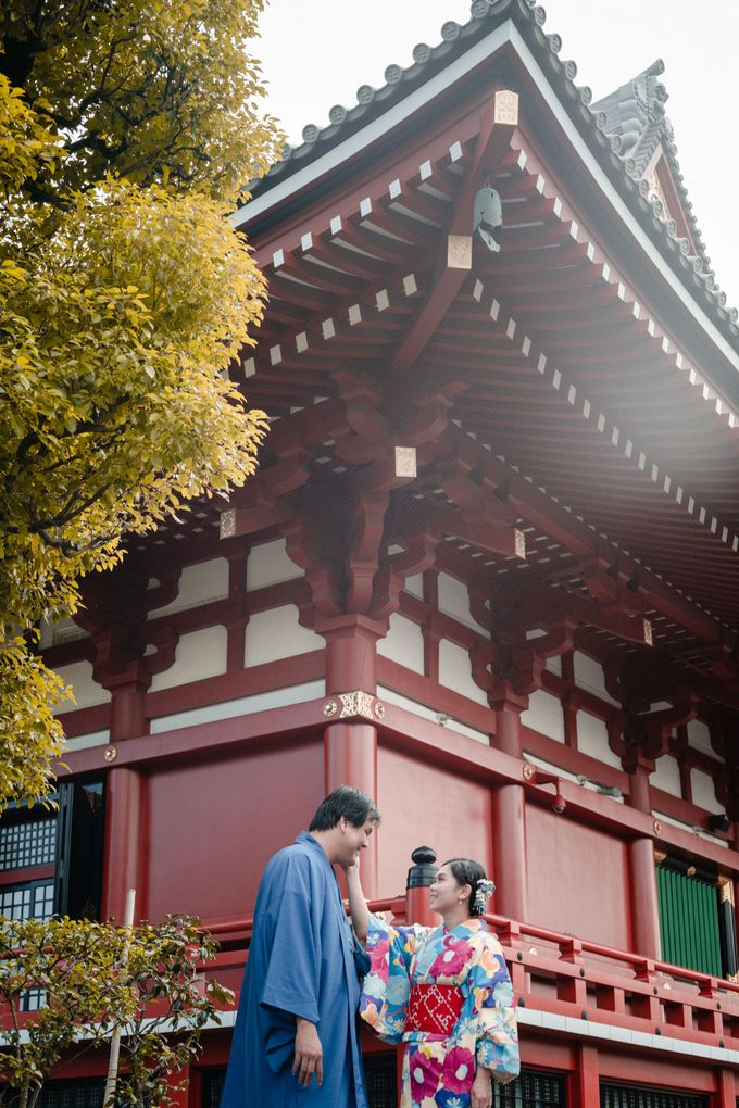 Japan   Prewedding Sutrisno & Verlina by Monchichi - 014