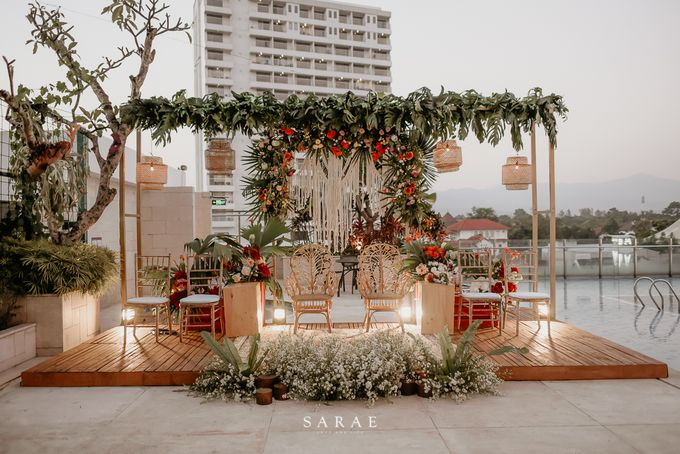 POOLSIDE WEDDING by Crowne Plaza Bandung - 011