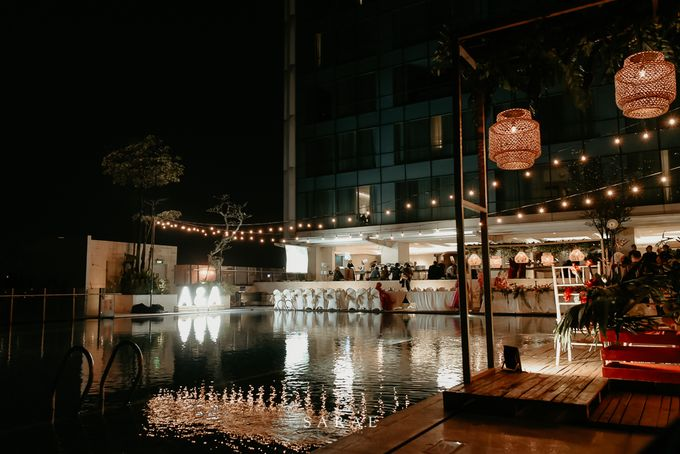 POOLSIDE WEDDING by Crowne Plaza Bandung - 012