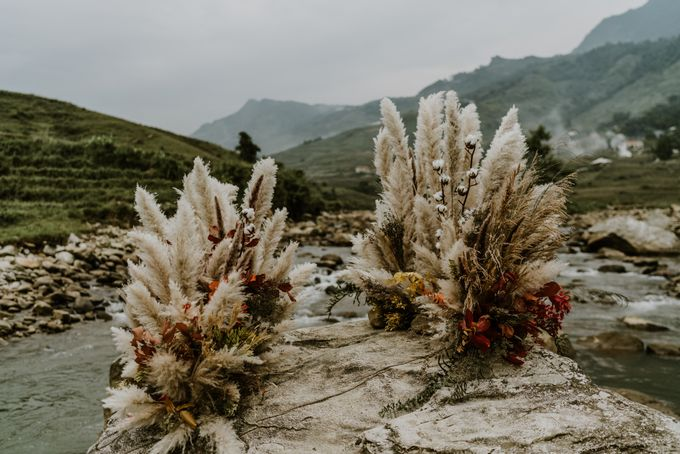Elopement Wedding in Sapa by Hipster Wedding - 001