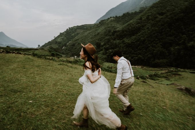 Elopement Wedding in Sapa by Hipster Wedding - 003