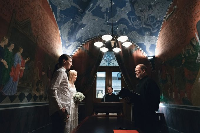 Copenhagen Elopement/Copenhagen City hall wedding by Renee Song Photography - 001