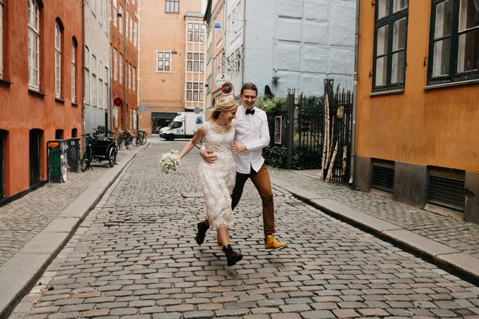 Copenhagen Elopement/Copenhagen City hall wedding by Renee Song Photography - 008