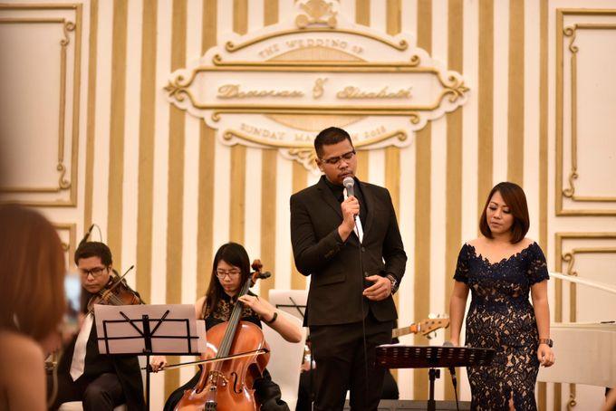 Donovan & Elisabeth Wedding at Menara Mandiri by Catalina Flora - 003