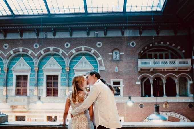 Copenhagen Elopement/Copenhagen City hall wedding by Renee Song Photography - 004