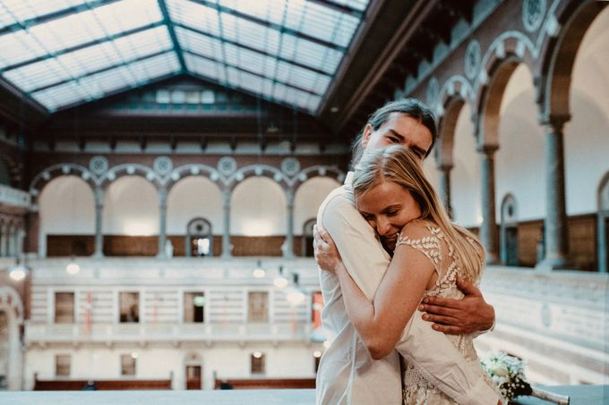 Copenhagen Elopement/Copenhagen City hall wedding by Renee Song Photography - 003