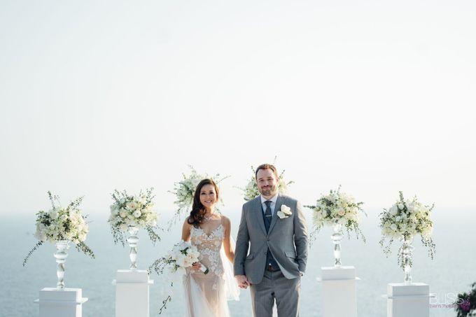 Wedding at villa Aye Phuket Thailand by BLISS Events & Weddings Thailand - 009