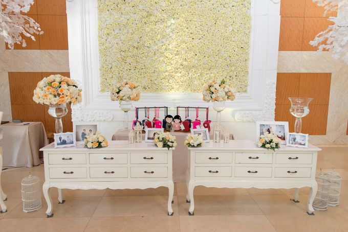 Wedding at Mulia Resort and Spa Bali by d'Oasis Florist & Decoration - 018