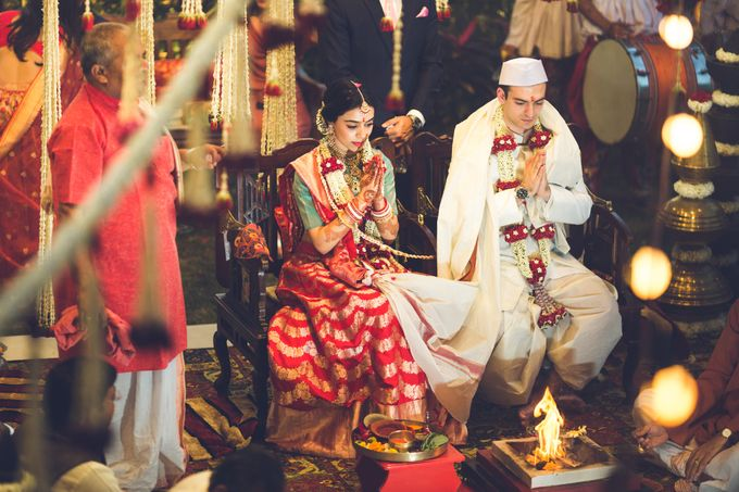 A CHIC FRENCH GUJARATI INTIMATE WEDDING by destination  photographers - 006