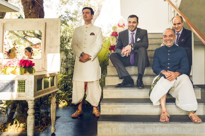 A CHIC FRENCH GUJARATI INTIMATE WEDDING by destination  photographers - 016