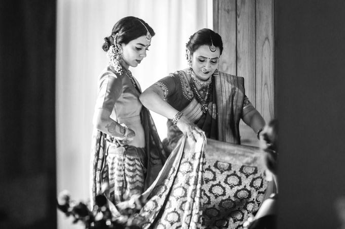 A CHIC FRENCH GUJARATI INTIMATE WEDDING by destination  photographers - 017