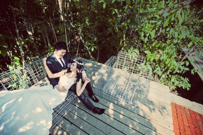 Pre Wedding of Keith and Priscilla by The Wedding Barn Gallery - 003