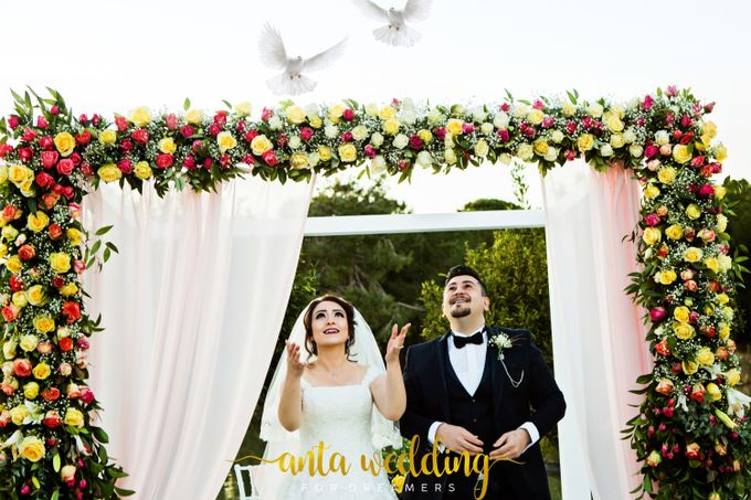 Wedding of Iraq Citizens in Antalya by Anta Organization Wedding & Event Planner - 002