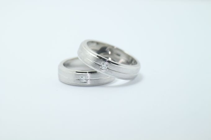 wedding ring simple Design by V&Co Jewellery - 008
