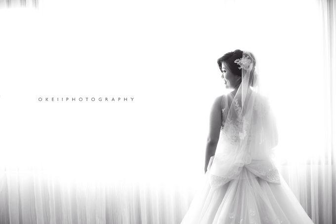 Alvin & Novi Wedding Day by Okeii Photography - 005