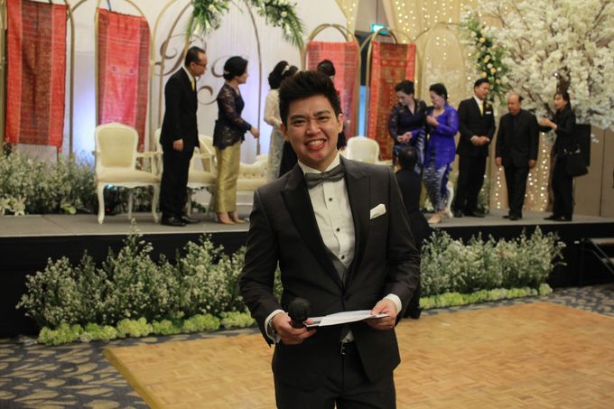 Mc Entertainment Wedding Sheraton Gandaria - Anthony Stevven  with Double V Entertainment Jakarta by Anthony Stevven - 020