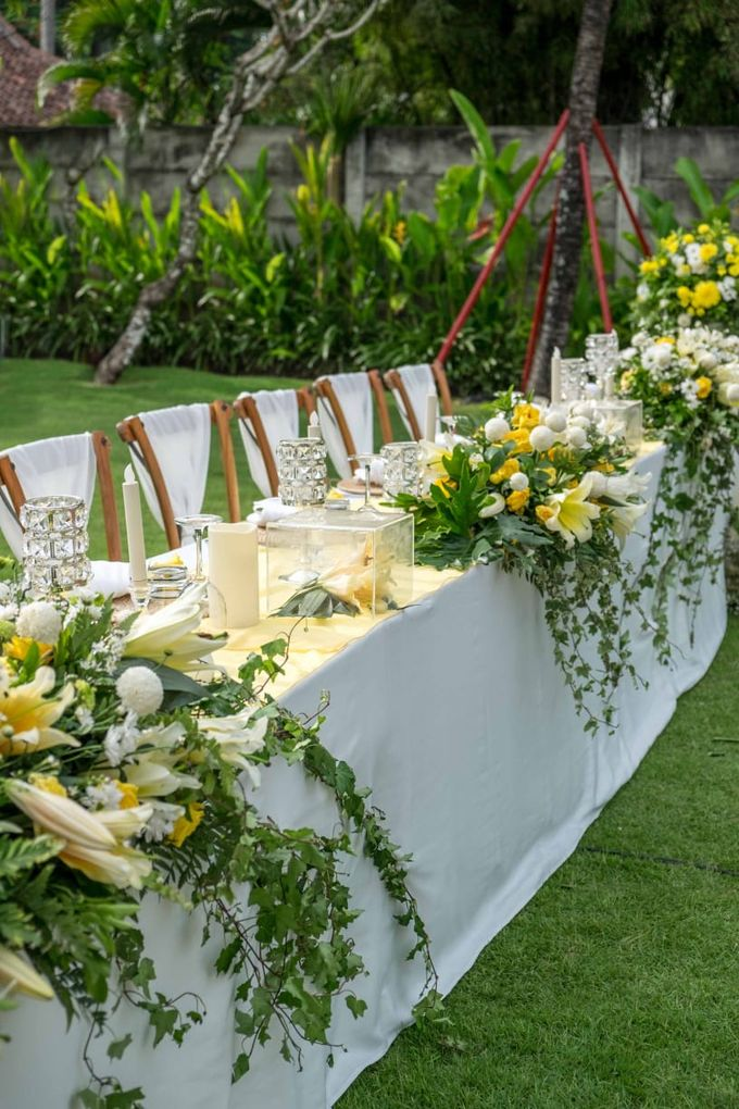 Yellow White and Green by CITTA Wedding - 006