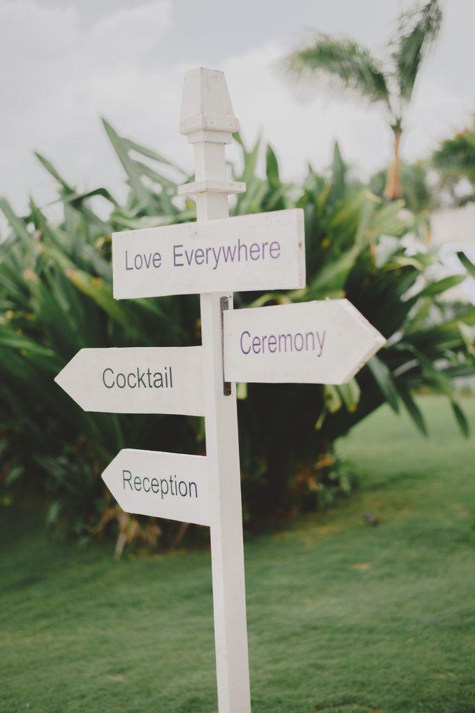Wedding in Villa Latitude by Bali Tie d' Knot - 006
