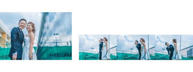 Jonathan & Gina Pre Wedding by Yvonne Creative Bridal - 001
