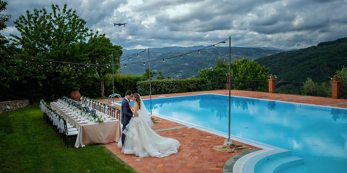 An intimate wedding in Tuscany by C&G Wedding and Event Designer - 001
