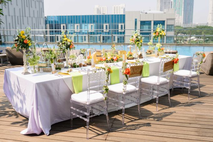 Infinity Table Set Wedding by Holiday Inn Jakarta Kemayoran - 002