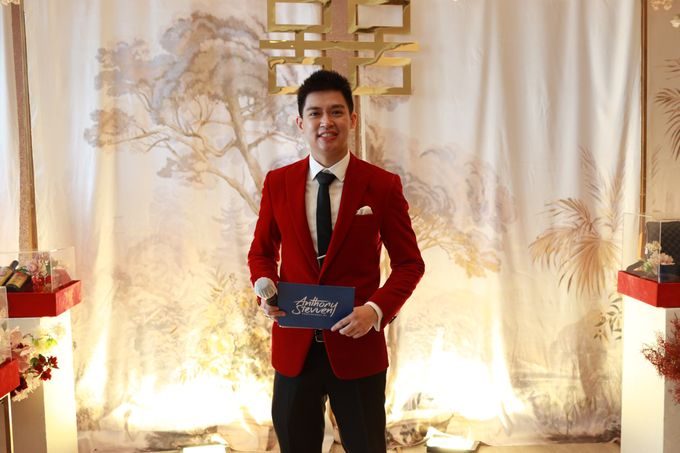Sangjit House Of Yuen Hotel Fairmont Jakarta - MC Anthony Stevven by NOMA Jewelry & Accessories - 019