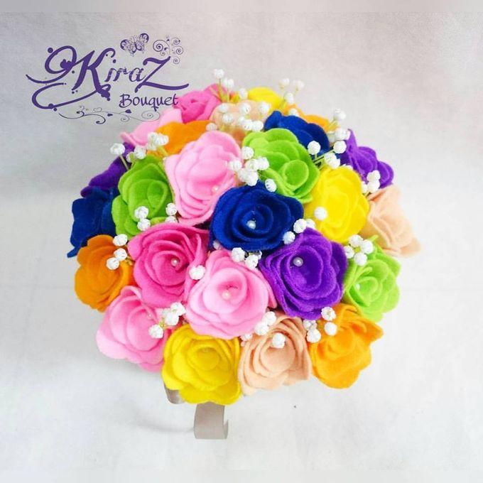 rainbow flower in the box by Kiraz Bouquet - 002
