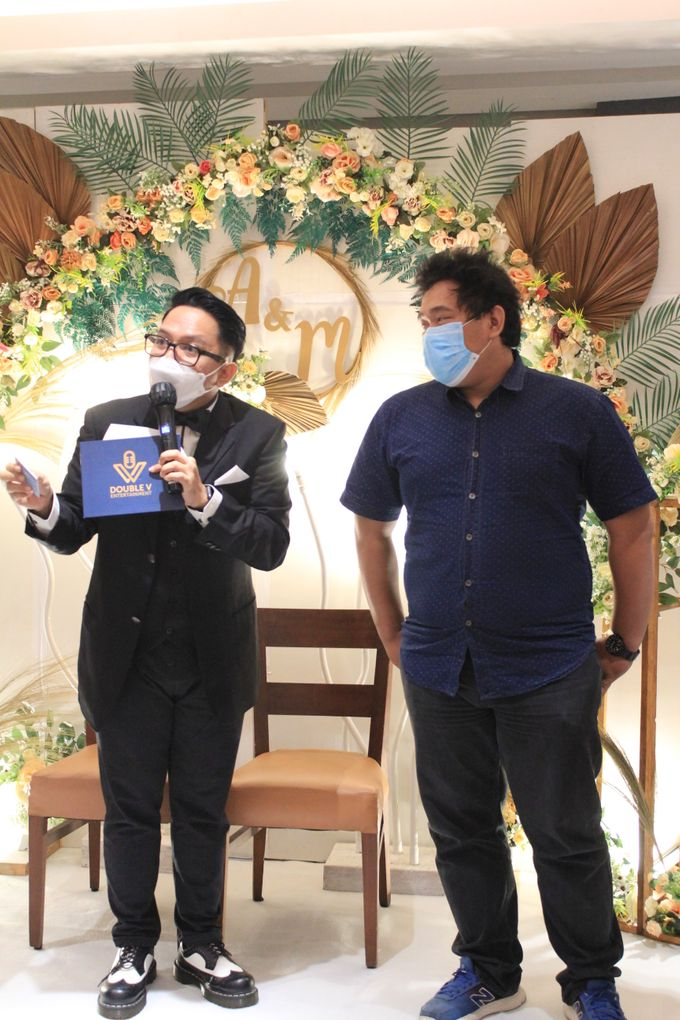 MC Wedding Double V Entertainment at JHL Solitaire Serpong by Double V Entertainment - 002