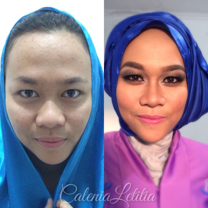 Graduation Makeup by Calenia Letitia Makeup Artist - 001