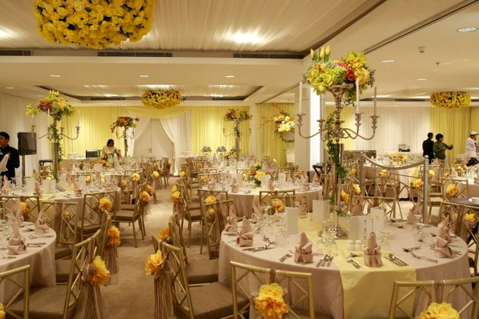 Ballroom Decorated by Thamrin Nine Ballroom - 002