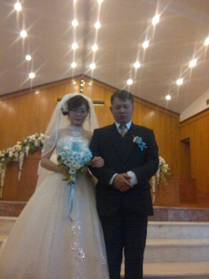 THE WEDDING OF ANTON & LENNY / 17.01.15 / ROSE GARDEN RESTAURANT, SLIPI, JAKARTA by AS2 Wedding Organizer - 003