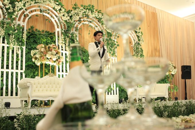 MC Wedding Menara Mandiri Jakarta - Anthony Stevven by IKK Wedding Planner - 003