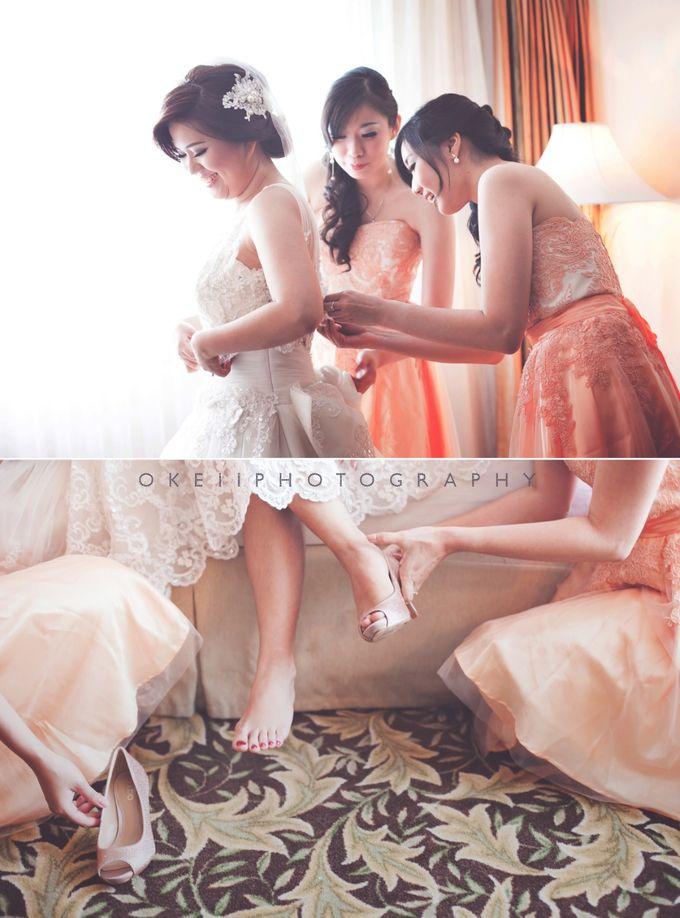 Alvin & Novi Wedding Day by Okeii Photography - 002