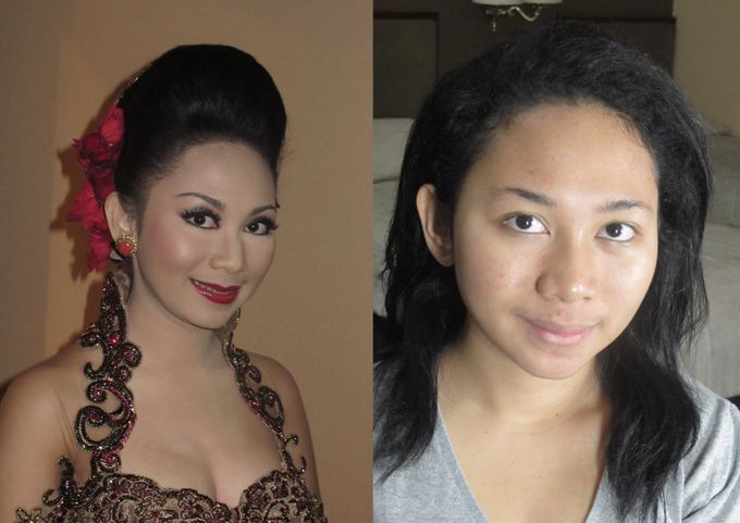 Before - After MakeUp & Hair Do by Andiyanto Salon - 008