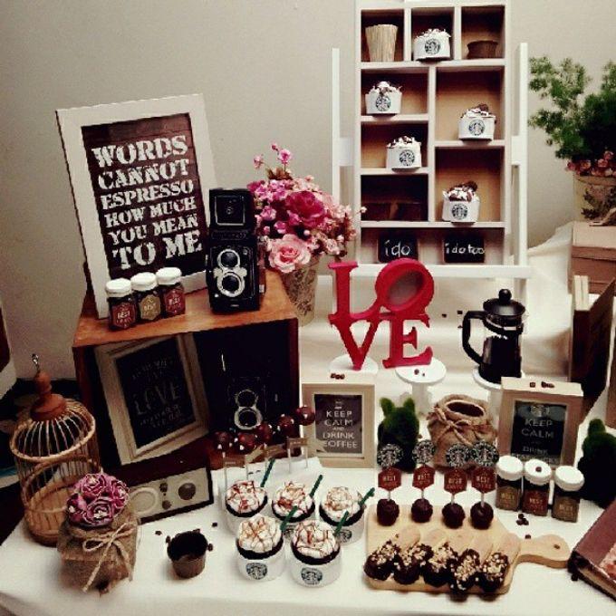 Starbuck Coffee Lovers Dessert Table by Veste Sweet & Delight - 002