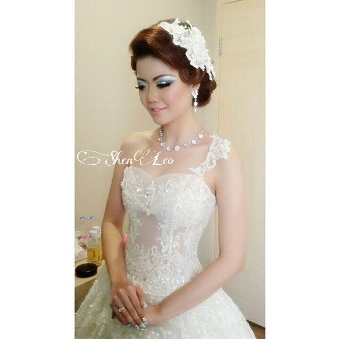 wedding makeup by ShenLeo Makeup - 012