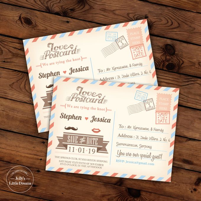 WEDDING INVITATION by Jolly's Little Dreams - 002