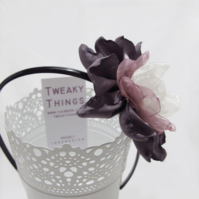 Fabric flower - Headband by TweakyThings - 003